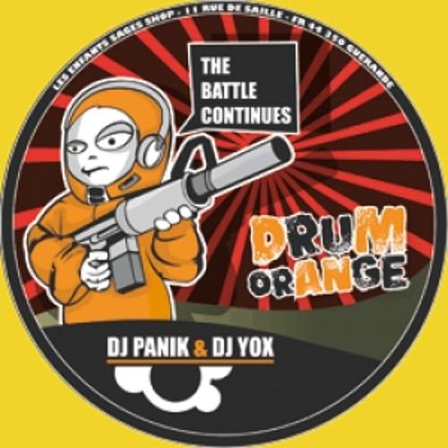 DJ PANIK & YOX - The Battle Continues (Drum Orange Records #14)