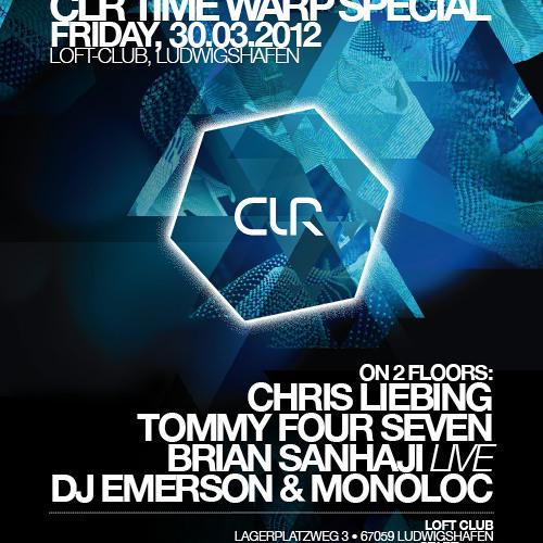 DJ EMERSON // CLR TIME WARP SPECIAL - 30.03.12