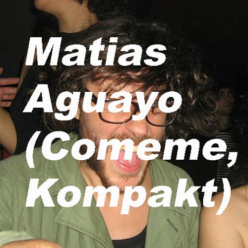 Sampler Exclusive podcast 01 by Matias Aguayo (Comeme / Kompakt)