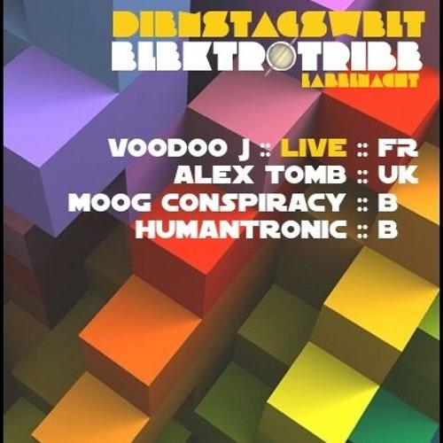 Voodoo J Live AcT -  Mikz Club  @Berlin 2012
