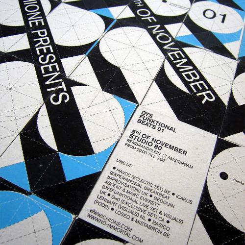 Havoc @ Dysfunktional Beats, Amsterdam 2005 (IChiOne)