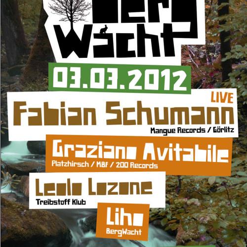 Fabian Schumann Live @ BergWacht Artheater Cologne 03.03.2012