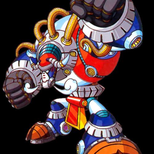 Mega Man X3 - Blizzard Buffalo Stage by Fernando Baruni | Free