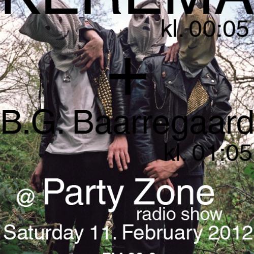 Kerema DJ SET @ PartyZone 11/02/2012