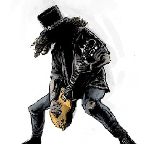 Guns and Roses the Godfather theme (SLASH guitar solo) by