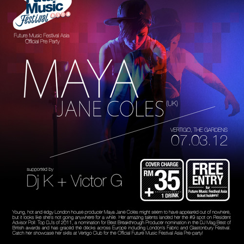 Victor Goh - 7th March 2012 opening for Maya Jane Coles