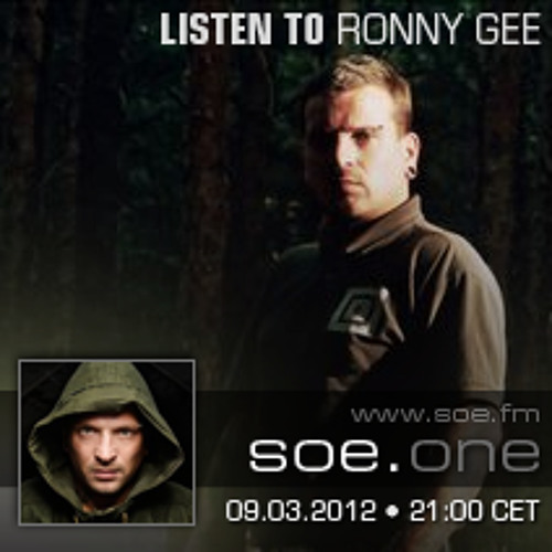 Listen to - Ronny Gee - 09.03.12