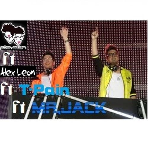 Out of my head-PLAYMEN ft Alex Leon ft T-Pain(mr.Jack's RMX)