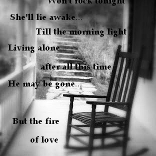LEFT TO BURN(in a fire full of love)