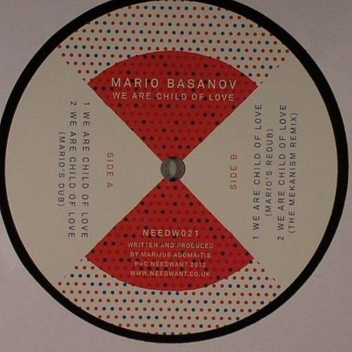 Mario Basanov - We Are Child Of Love (Mario Redub) 12''