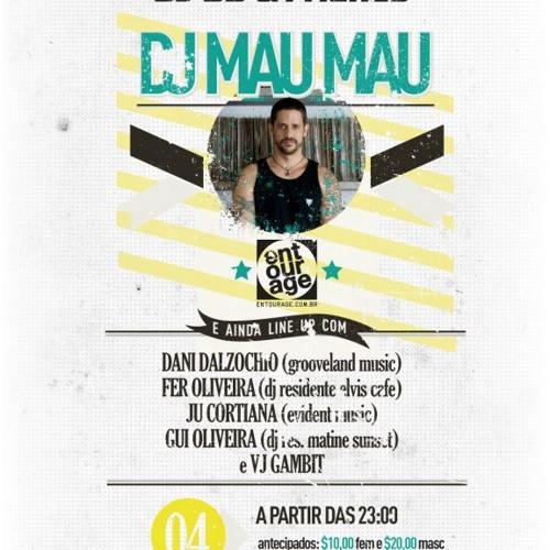 DJ DD Warm Up for DJ Mau Mau @ Elivs Café, Farroupilha/RS - 11.02.2012