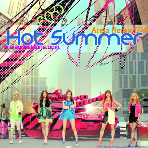 【074】f(x) - Hot Summer (areia remix)