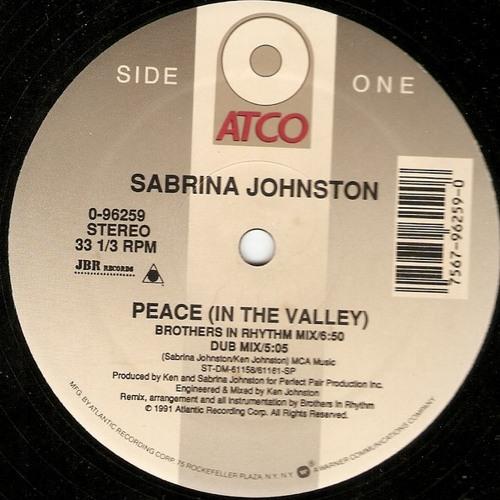 Sabrina Johnston - Peace (Edit)