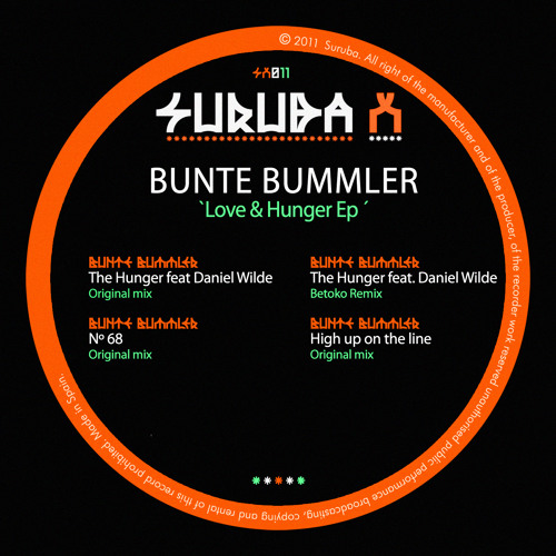 Bunte Bummler - The Hunger feat. Daniel Wilde (Betoko Remix) [Suruba X]