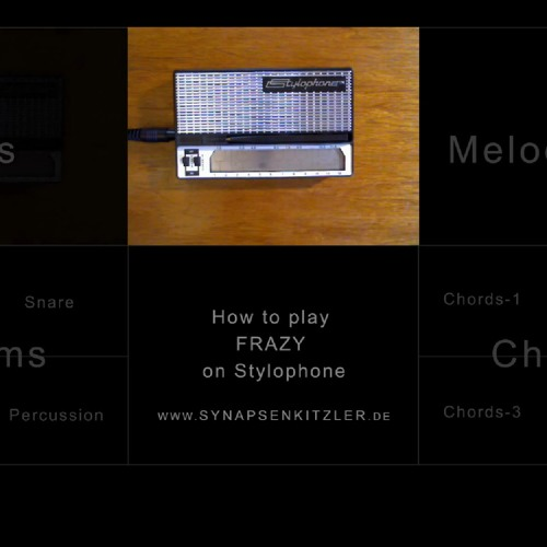 Synapsenkitzler - Frazy (edit) How to play Frazy on Stylophone (check Videolink!)
