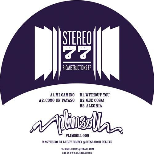 Stereo 77 - Ricanstructions EP (Plimsoll Records)