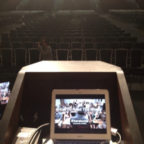 BaratundeCast: CultivatedWit.com - Behind The Scenes of my #SXSW Keynote