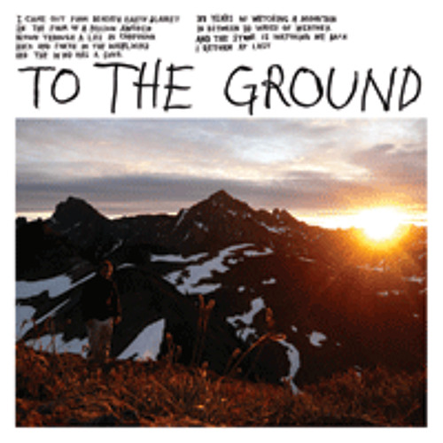 MOUNT EERIE To The Ground