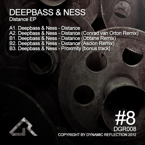 Deepbass & Ness - Distance Ep (incl.Conrad Van Orton | Obtane | Ascion remixes) [DGR008]
