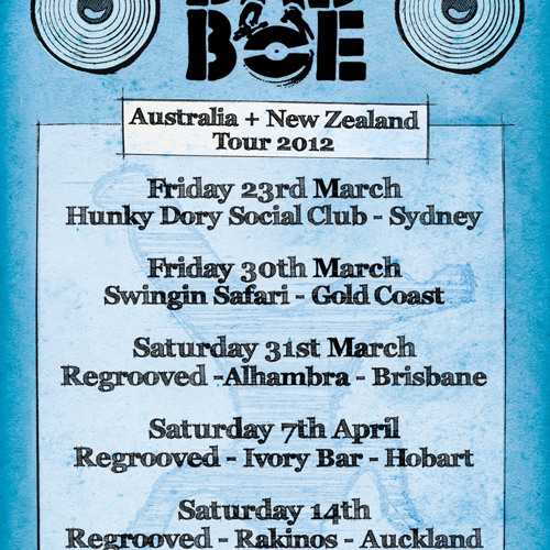 BadboE Australia+New Zealand Tour 2012 - Promo Mix