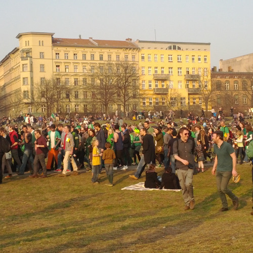 St Patrick's Day at Görlitzer Park