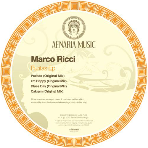 "MARCO RICCI ""PURITAS EP"" - AENARIA MUSIC [AENMU039]"