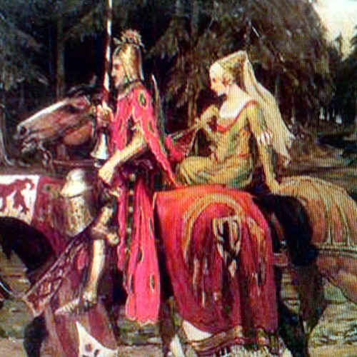 The Knight and his Lady.music-freddiehangoler,poem and vocal- oddrun eikli