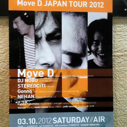 move d @ air, tokyo 2012-03-10