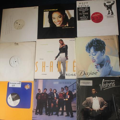 Vinyl MIX - Underground House 87/94 inc Ce Ce Peniston / Roxanne Shante / Mood II Swing / Dajae