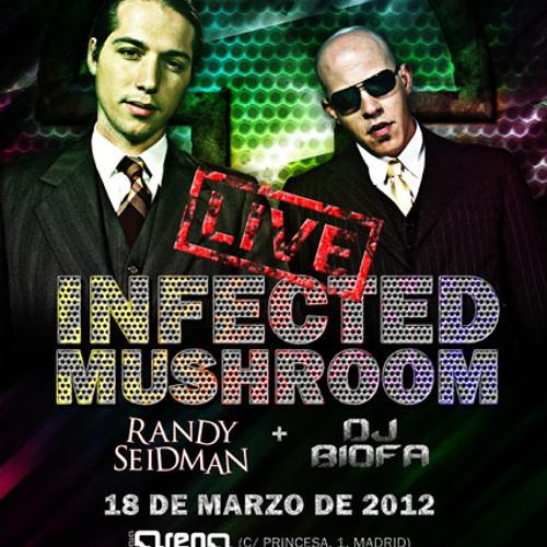 Biofa DJ SET - Infected Mushroom Party, Madrid 18-03-2012