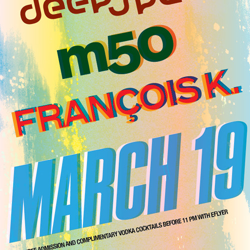 m50 opening set @ Deep Space, Cielo 2012.03.19