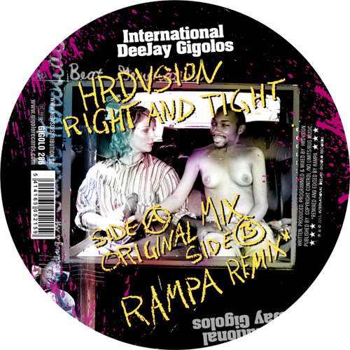 Hrdvsion - Right And Tight (Rampa Remix) - Gigolo