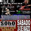 TRIBUTO TOUR 2012 EN SANTA BARBARA, CA. 3-24-12