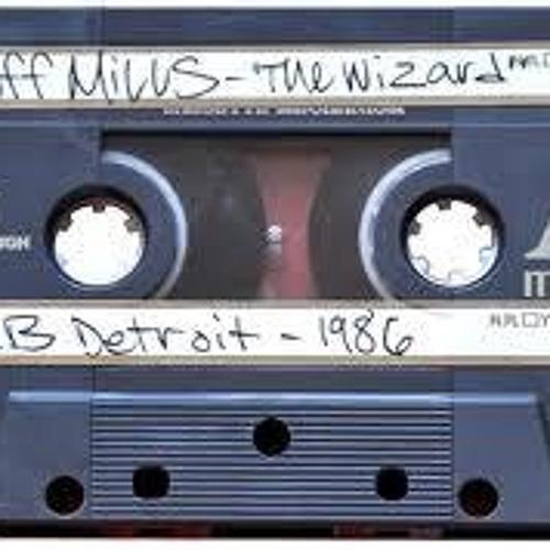 Jeff Mills is the Wizard – WJLB Detroit Radio-Tapes 1986 – 1989
