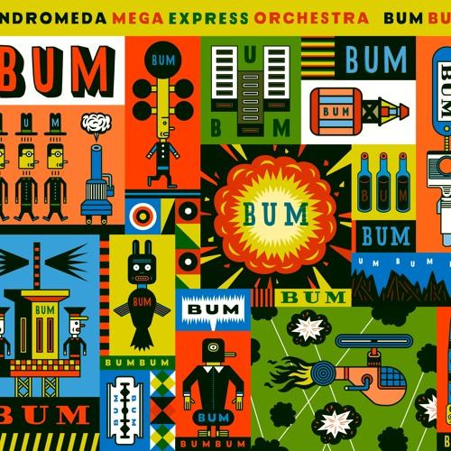Andromeda Mega Express Orchestra : Saturn Hoola Hoop