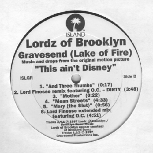 Lordz Of Brooklyn - Gravesend (Lord Finesse Extended Mix ft. OC, Tro Severe, Lord Finesse, Everlast)