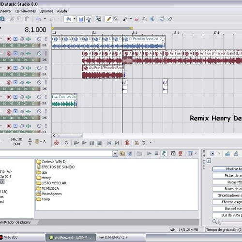 D´Franklin Band - Asi Fue Remix Bass Henry Dj