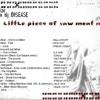 Oskar aka dj Disease A LITTLE PIECE OF RAW MEAT [2009] mix