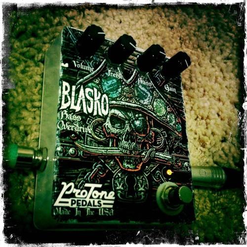 Blasko Bass Overdrive Pedal Demo