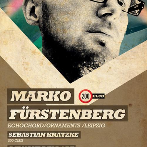 Marko Fürstenberg Live @ 200 Club, Studio 672, Cologne, 23.3.2012