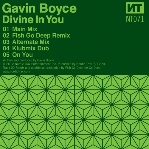 NT071 01 GAVIN BOYCE Divine In You Main Mix [PREVIEW CLIP]