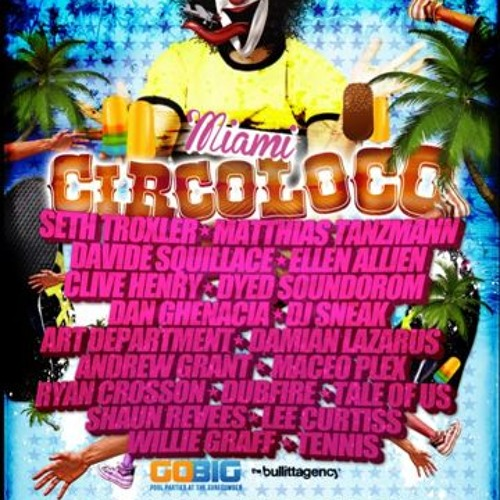 Maceo Plex - Live @ WMC 2012 - Miami - Circoloco Surfcomber Party - 22.03.12