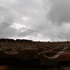 Alvoco com chuva e trovoada