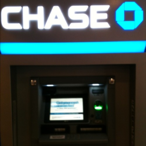 Chase ATM Deposit Beep at Chase Bank Branch &