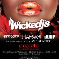 Club Magacin - Wickedjs - Beat Maniacs / DJ Maron / DJ Joop powered by TEKYES MC GUNNER