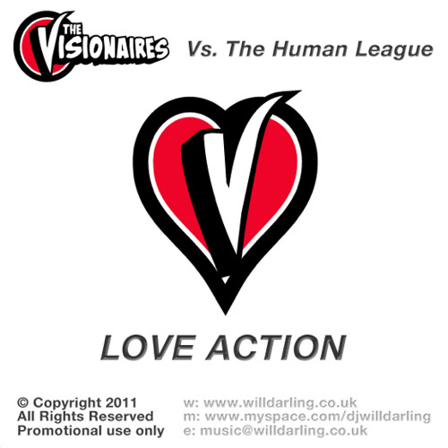 The Visionaires Vs. The Human League - Love Action