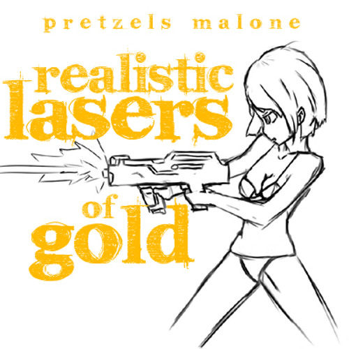 realistic lasers of gold