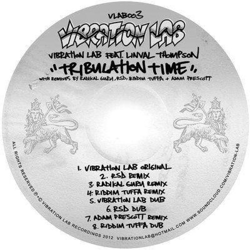 VLAB003 Vibration Lab feat. Linval Thompson - Tribulation Time [Riddim Tuffa Remix]