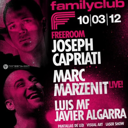 Javier Algarra@FamilyClub 10 marzo 12