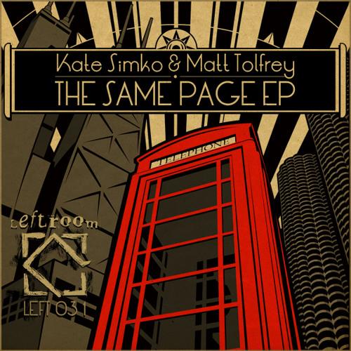 Kate Simko & Matt Tolfrey - No Shame (Original Mix)